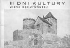 III Dni Kultury Ziemi Będzińskiej