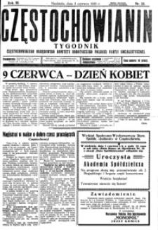 Częstochowianin, 1929, R. 3, nr 22