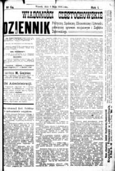 Wiadomości Częstochowskie, 1906, R. 1, nr 64
