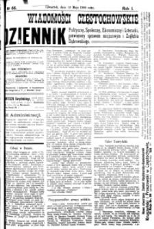 Wiadomości Częstochowskie, 1906, R. 1, nr 66
