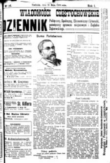 Wiadomości Częstochowskie, 1906, R. 1, nr 76