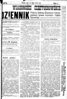 Wiadomości Częstochowskie, 1906, R. 1, nr 81
