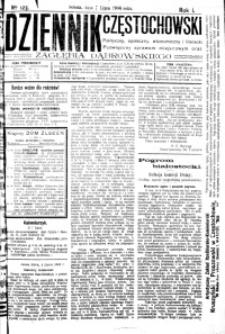 Dziennik Częstochowski, 1906, R. 1, nr 123