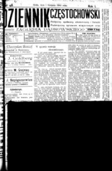 Dziennik Częstochowski, 1906, R. 1, nr 148