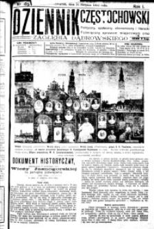Dziennik Częstochowski, 1906, R. 1, nr 163