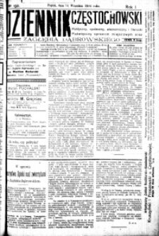Dziennik Częstochowski, 1906, R. 1, nr 192