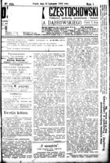 Dziennik Częstochowski, 1906, R. 1, nr 255