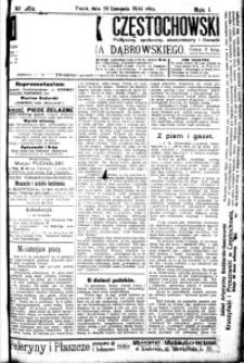 Dziennik Częstochowski, 1906, R. 1, nr 262
