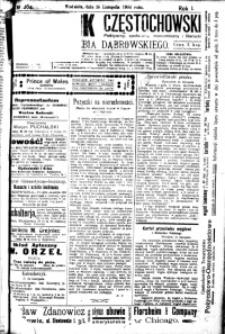 Dziennik Częstochowski, 1906, R. 1, nr 264