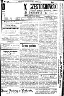 Dziennik Częstochowski, 1906, R. 1, nr 278