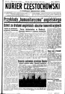Kurier Częstochowski, 1939, R. 1, nr 61