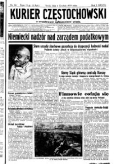 Kurier Częstochowski, 1939, R. 1, nr 62