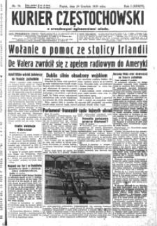 Kurier Częstochowski, 1939, R. 1, nr 79