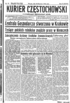 Kurier Częstochowski, 1940, R. 2, nr 23