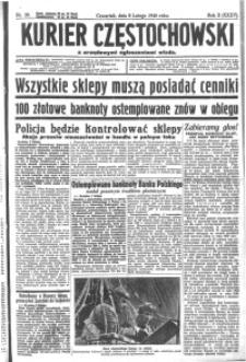 Kurier Częstochowski, 1940, R. 2, nr 30