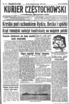 Kurier Częstochowski, 1940, R. 2, nr 41