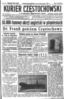 Kurier Częstochowski, 1940, R. 2, nr 45