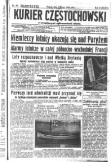 Kurier Częstochowski, 1940, R. 2, nr 49