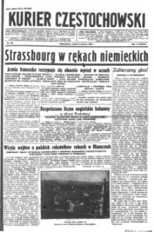 Kurier Częstochowski, 1940, R. 2, nr 140