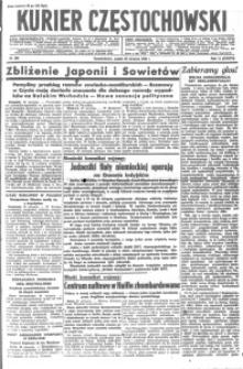 Kurier Częstochowski, 1940, R. 2, nr 200