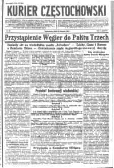 Kurier Częstochowski, 1940, R. 2, nr 271