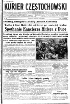 Kurier Częstochowski, 1941, R. 3, nr 204