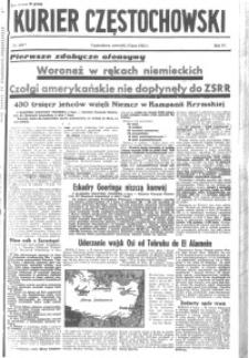 Kurier Częstochowski, 1942, R. 4, nr 160