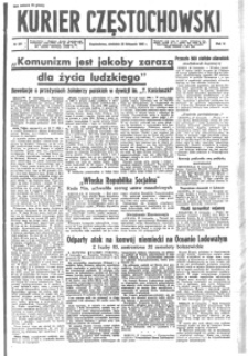 Kurier Częstochowski, 1943, R. 5, nr 281
