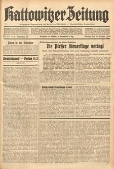 Kattowitzer Zeitung, 1934, Jg. 66, Nr. 207