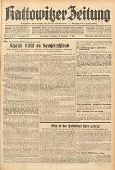 Kattowitzer Zeitung, 1934, Jg. 66, Nr. 214