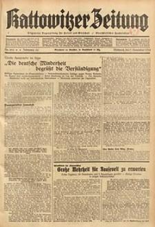 Kattowitzer Zeitung, 1934, Jg. 66, Nr. 256