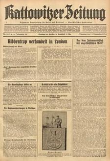 Kattowitzer Zeitung, 1934, Jg. 66, Nr. 261