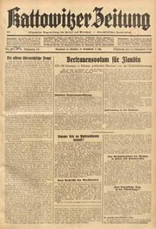 Kattowitzer Zeitung, 1934, Jg. 66, Nr. 262