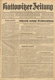 Kattowitzer Zeitung, 1934, Jg. 66, Nr. 268