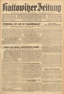 Kattowitzer Zeitung, 1934, Jg. 66, Nr. 275