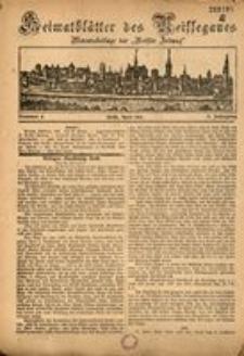 Heimatblätter des Neissegaues, 1926, Jg. 2, Nr. 4