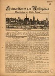 Heimatblätter des Neissegaues, 1927, Jg. 3, Nr. 7