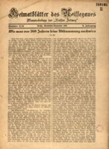 Heimatblätter des Neissegaues, 1934, Jg. 9, Nr. 11/12