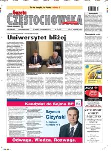 Gazeta Częstochowska, 2007, nr39 (822)