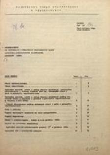 Uzupełnienie do Informacji o realizacji ważniejszych zadań społeczno-gospodarczych województwa. Grudzień 1980 r.