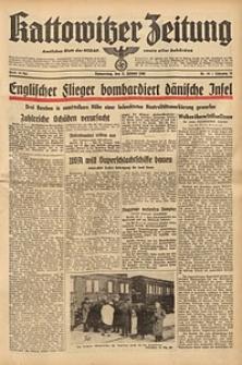 Kattowitzer Zeitung, 1940, Jg. 72, Nr. 10