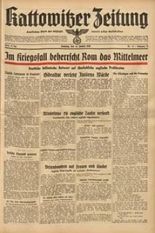 Kattowitzer Zeitung, 1940, Jg. 72, Nr. 13