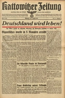 Kattowitzer Zeitung, 1940, Jg. 72, Nr. 30