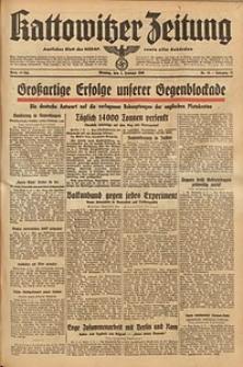 Kattowitzer Zeitung, 1940, Jg. 72, Nr. 35