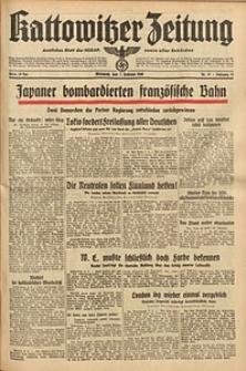 Kattowitzer Zeitung, 1940, Jg. 72, Nr. 37