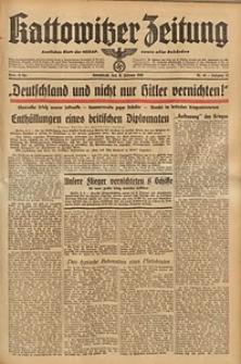 Kattowitzer Zeitung, 1940, Jg. 72, Nr. 40