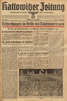 Kattowitzer Zeitung, 1940, Jg. 72, Nr. 71