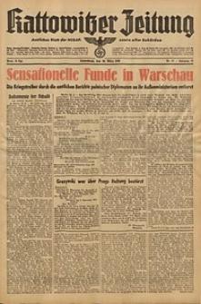 Kattowitzer Zeitung, 1940, Jg. 72, Nr. 87