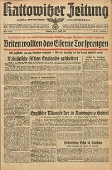 Kattowitzer Zeitung, 1940, Jg. 72, Nr. 97