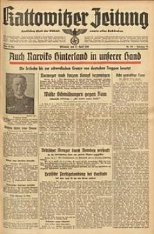 Kattowitzer Zeitung, 1940, Jg. 72, Nr. 105